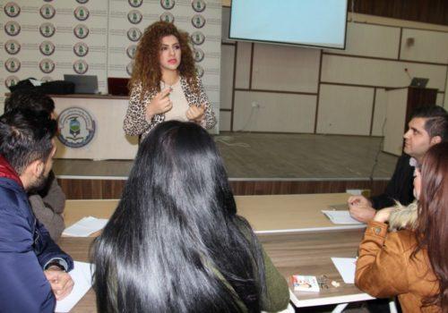جامعة السليمانية التقنية تنظم ورشة لتأهيل موظفيها الجدد