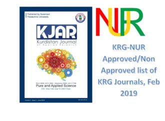 SPU journal, KJAR, is among the MHE-NUR approved journals