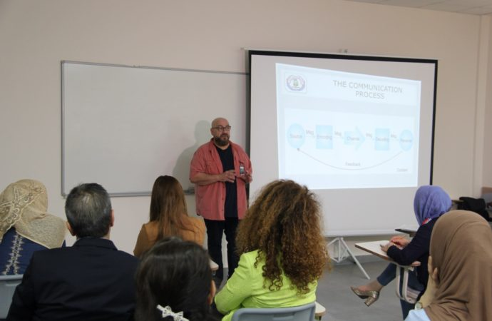 """""""Communication Strategies and Techniques"""" workshop was organized by Directorate of International Relations"""