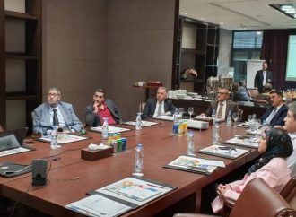 Representatives of Sulaimani Polytechnic University participate in a workshop in Lebanon