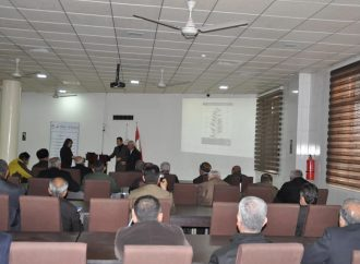 Halabja Runs a Series of Workshops and a Special Course of Agriculture
