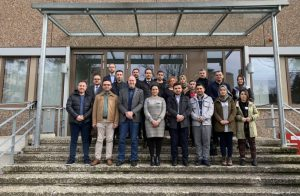 A delegation from SPU participates in a workshop in Germany